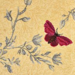 Yellow Ruskin Butterfly - 6/TB50155
