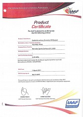 Product Certificate 2011-2015