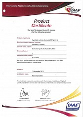 Product Certificate 2012-2016